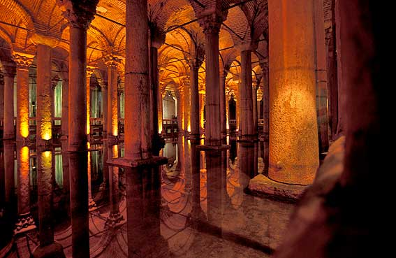 Guides of Istanbul - Basilica Cistern